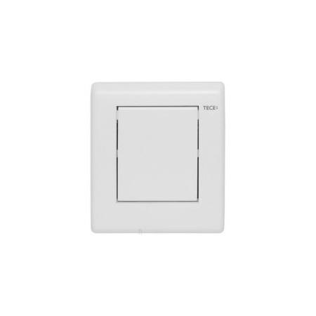 Tece Planus Przycisk spłukujący do pisuaru metalowy, biały połysk 9242314
