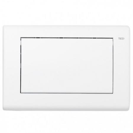 Tece Planus Przycisk spłukujący do WC metalowy, biały matowy 9240312