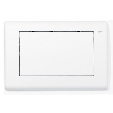 Tece Planus Przycisk spłukujący do WC metalowy, biały połysk 9240314