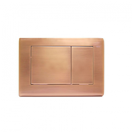 Tece Planus Przycisk spłukujący do WC metalowy, antyczna miedź 9240365