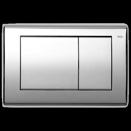 Tece Planus Przycisk spłukujący do WC metalowy, chrom połysk 9240321