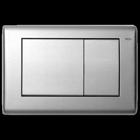 Tece Planus Przycisk spłukujący do WC metalowy, stal szczotkowana 9240320