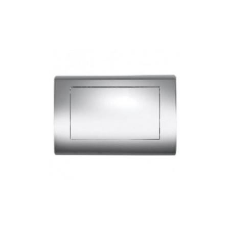 Tece Planus Przycisk spłukujący do WC metalowy, stal szczotkowana 9240310