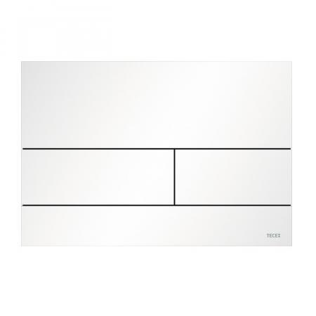 Tece Square II Przycisk spłukujący WC biały mat 9240834