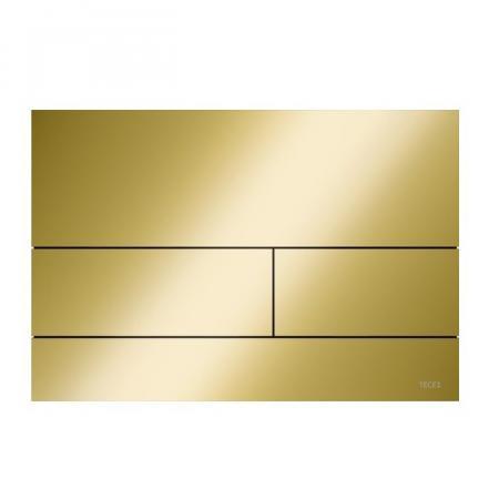 Tece Square II Przycisk spłukujący WC złoty optyczny połysk 9240839