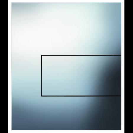Tece Square Przycisk spłukujący do pisuaru metalowy, chrom połysk 9242811