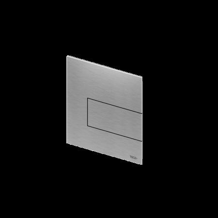 Tece Square Przycisk spłukujący do pisuaru metalowy, stal szlachetna szczotkowana 9242810