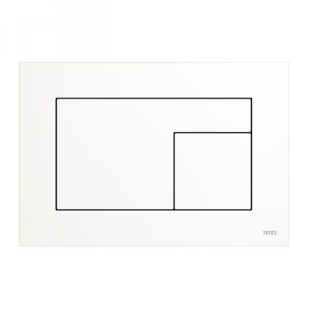 Tece Velvet Przycisk spłukujący WC Bianco Kos/biały 9242019