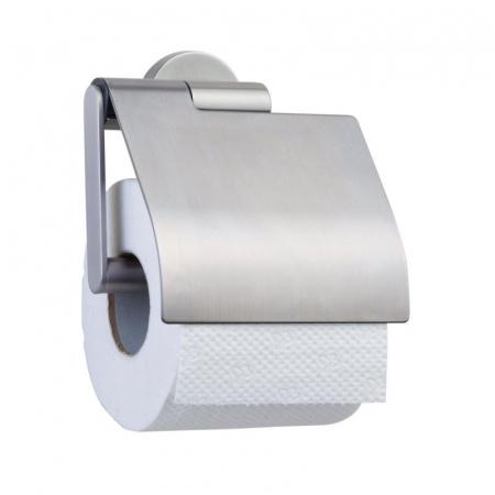 Tiger Boston Wieszak na papier toaletowy z klapką, stalowy 3091.09/3091.3.09.46