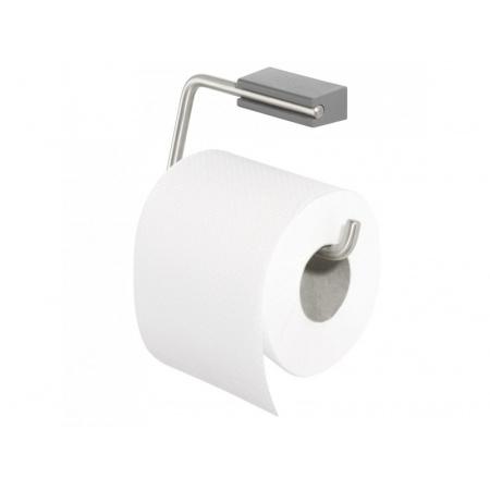 Tiger Cliqit Uchwyt na papier toaletowy 14,7x2,7x8,4 cm, szary 2865.10/2865.3.10.46