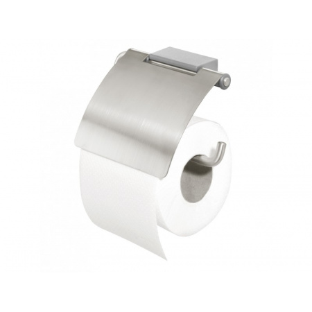 Tiger Cliqit Uchwyt na papier toaletowy 14,7x4,1x11 cm, szary 2866.10/2866.3.10.46