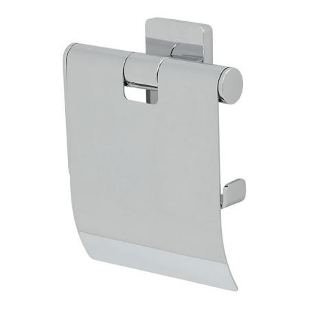 Tiger Dock Uchwyt na papier toaletowy z klapką, chrom 1324130346