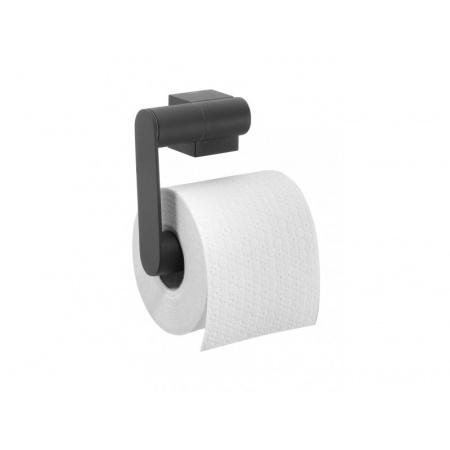 Tiger Nomad Uchwyt na papier toaletowy 12,5x5,5x11,5 cm, czarny 2490.07/2490.3.07.46