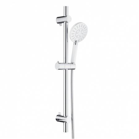 Tiger Splash Akcent Zestaw prysznicowy natynkowy biały/chrom 1714940144
