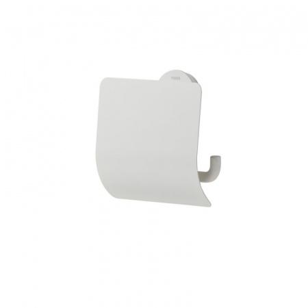 Tiger Urban Wieszak na papier toaletowy z klapką, biały 1316630146