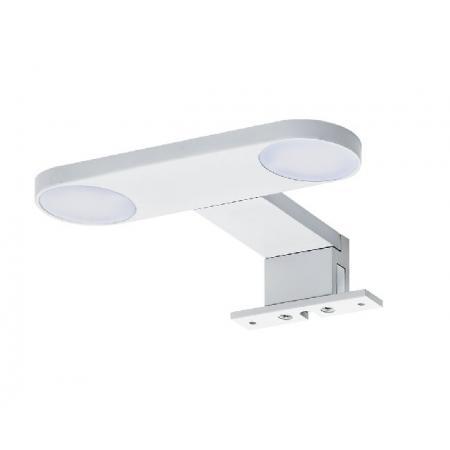 Tiger Yaro Lampa LED nad lustro 17 cm biała 906030141