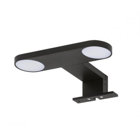 Tiger Yaro Lampa LED nad lustro 17 cm czarna 906030741