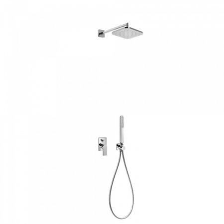 Tres Loft-Tres Zestaw prysznicowy podtynkowy z dźwignią, chrom 200.180.02