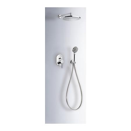 Tres Mono-Term Zestaw prysznicowy podtynkowy z dźwignią, chrom 201.180.03