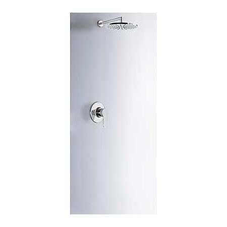 Tres BM-Tres Zestaw prysznicowy podtynkowy z dźwignią, chrom 1.17.377