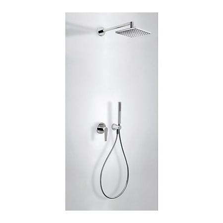 Tres Class-Tres Zestaw prysznicowy podtynkowy z dźwignią , chrom 205.180.02