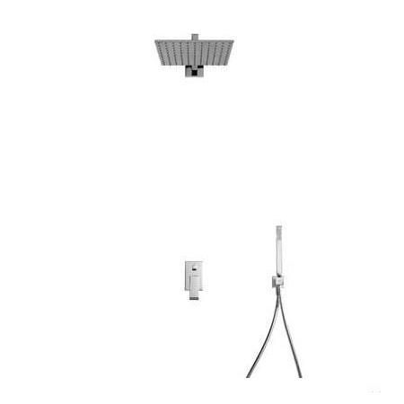 Tres Cuadro-Tres Zestaw prysznicowy podtynkowy z dźwignią, chrom 1.06.980