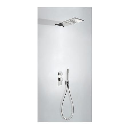 Tres Espacio Zestaw prysznicowy podtynkowy termostatyczną i chrom 206.252.02