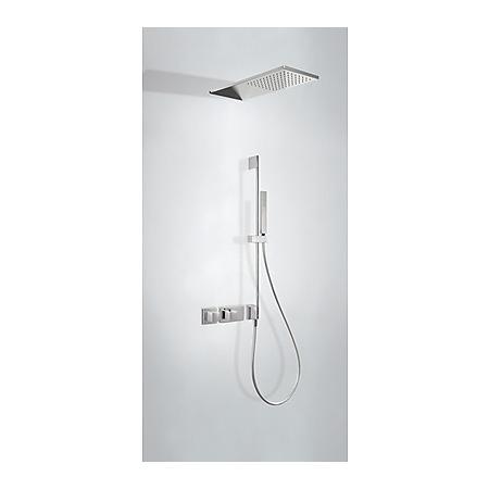 Tres Espacio Zestaw prysznicowy podtynkowy termostatyczną i chrom 207.252.10