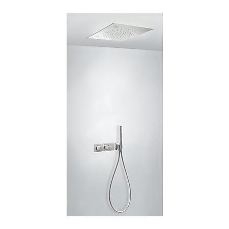 Tres Espacio Zestaw prysznicowy podtynkowy termostatyczną i chrom 207.352.05
