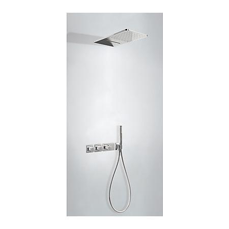 Tres Espacio Zestaw prysznicowy podtynkowy termostatyczną i chrom 207.353.02