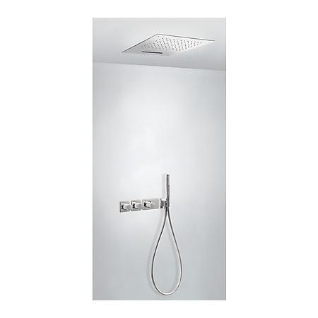 Tres Espacio Zestaw prysznicowy podtynkowy termostatyczną i chrom 207.353.03