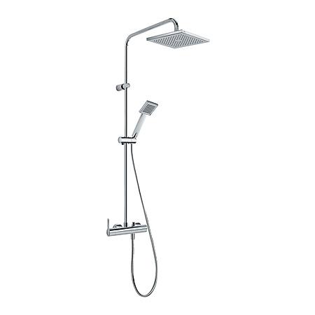 Tres Lex-Tres Zestaw prysznicowy natynkowy chrom 081.193.01