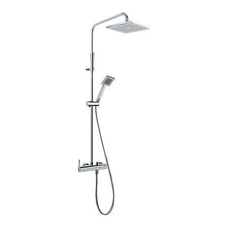 Tres Lex-Tres Zestaw prysznicowy natynkowy chrom 081.197.01