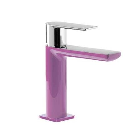 Tres Loft-Colors Jednouchwytowa bateria umywalkowa stojąca z dźwignią, fioletowa 200.103.01.VI.D