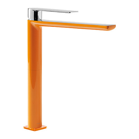 Tres Loft-Colors Bateria umywalkowa wysoka pomarańczowa 200.203.05.NA.D