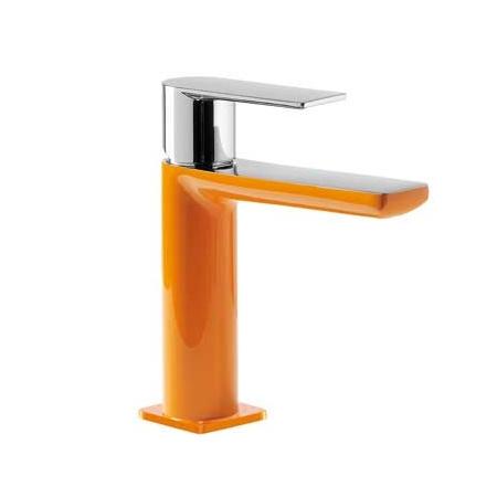 Tres Loft-Colors Jednouchwytowa bateria umywalkowa stojąca z dźwignią, pomarańczowa 200.103.01.NA.D