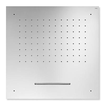 Tres Deszczownica kwadratowa sufitowa z kaskadą 50x50 cm, chrom 299.955.01