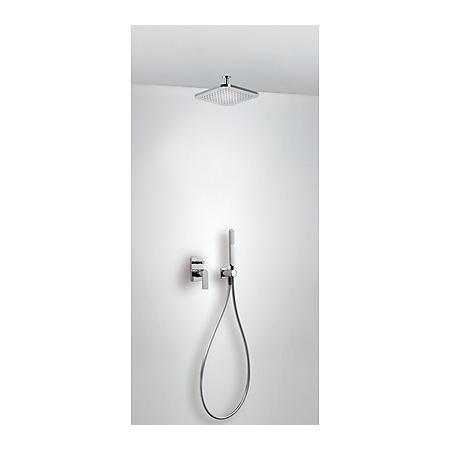 Tres Loft-Tres Zestaw prysznicowy podtynkowy z dźwignią, chrom 200.180.80