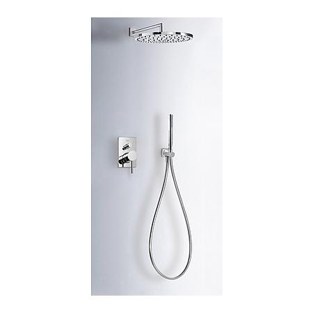 Tres Max-Tres Zestaw prysznicowy podtynkowy z dźwignią, chrom 062.980.01