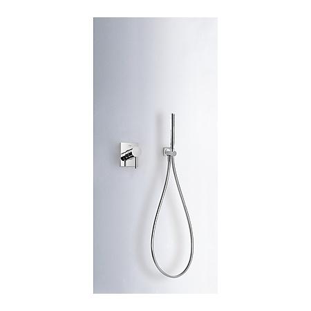 Tres Max-Tres Zestaw prysznicowy podtynkowy z dźwignią, chrom 062.177.03