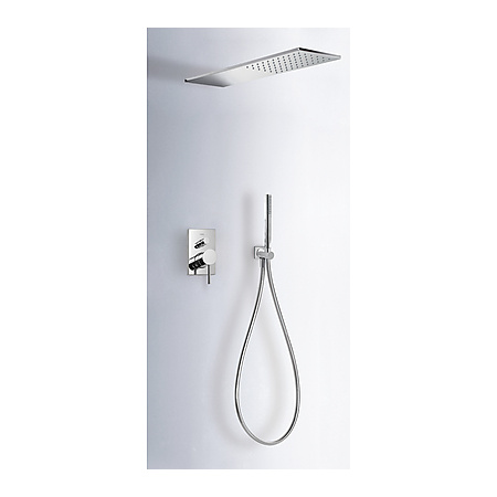 Tres Max-Tres Zestaw prysznicowy podtynkowy z dźwignią, chrom 062.516.01