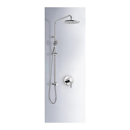 Tres Mono-Term Zestaw prysznicowy podtynkowy z dźwignią, chrom 201.177.03