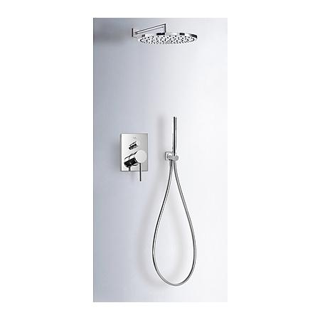 Tres Mono-Term Zestaw prysznicowy podtynkowy z dźwignią, chrom 062.180.03