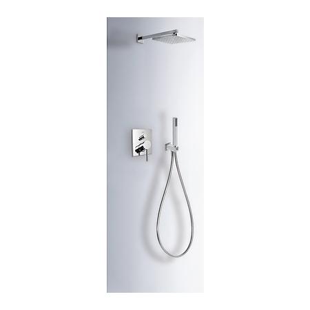 Tres Mono-Term Zestaw prysznicowy podtynkowy z dźwignią, chrom 201.180.06