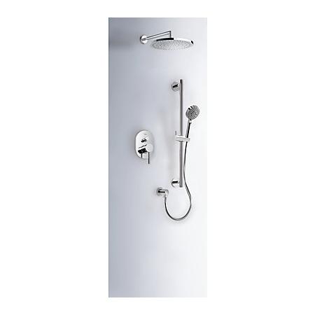 Tres Mono-Term Zestaw prysznicowy podtynkowy z pokrętłem, chrom 201.180.04
