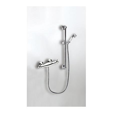 Tres Monoclasic 1900 Zestaw prysznicowy z baterią termostatyczną, mosiężny 032.164.02.LV