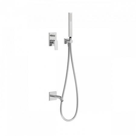 Tres Project Zestaw wannowo-prysznicowy podtynkowy chrom 21118003