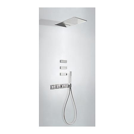 Tres Espacio Zestaw prysznicowy podtynkowy termostatyczną i chrom 207.254.01