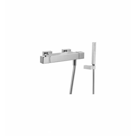 Tres Slim-Tres Bateria prysznicowa termostatyczna natynkowa z pokrętłem, chrom 202.164.09