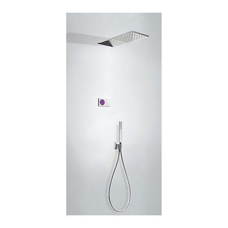 Tres Slim-Tres Zestaw prysznicowy elektroniczny podtynkowy z deszczownicą, chrom 092.865.51